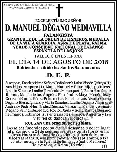 Manuel Dégano Mediavilla